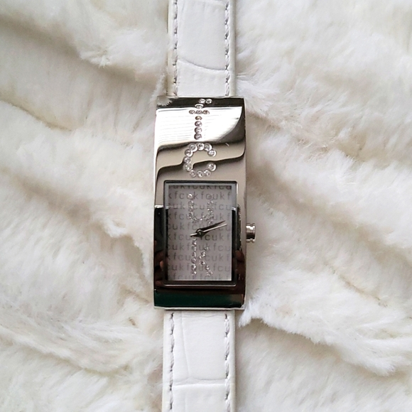 NEW FCUK leather watch